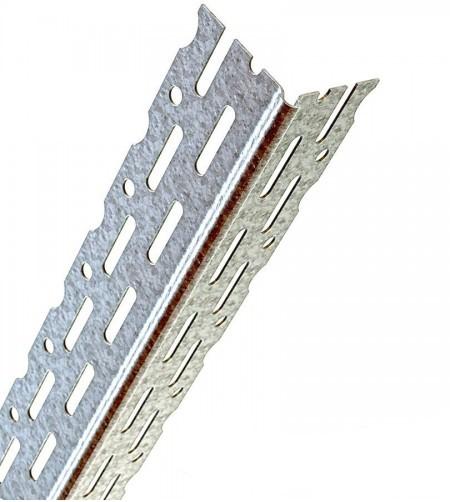 Thin Coat Angle Bead Catnic DW2.4 Galvanised 2.4m