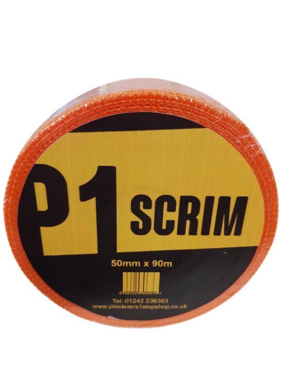 Orange High Strength Pro Scrim Tape 50mm x 90m